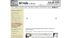 Preview of blindsbydesign.ca